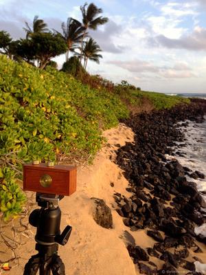 Zero Image 35mm Pinhole, South Shore Kauai, Hawaii