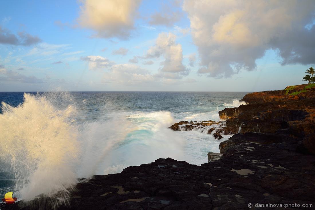 Sunrise over Makawehi Lithified Cliffs, Kauai, Hawaii