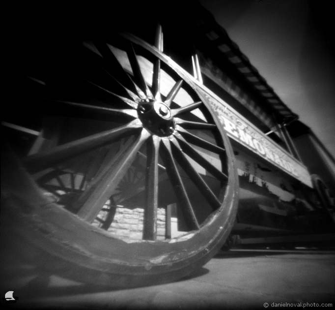 Lemonade Wagon, Pinhole Photography, terraPIN ACME, Fuji Acros 100