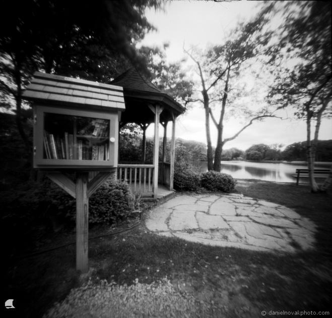 Pinhole Little Free Library, Pinhole Photogaphy, terraPIN ACME, Kodak T-Max 100
