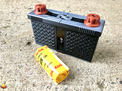 terraPIN ACME 2, a 3D printed camera designed by Todd Schlemmer