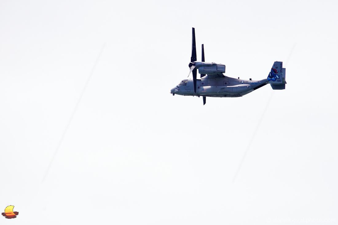 USAF Boeing V-22 Osprey over Buffalo, NY