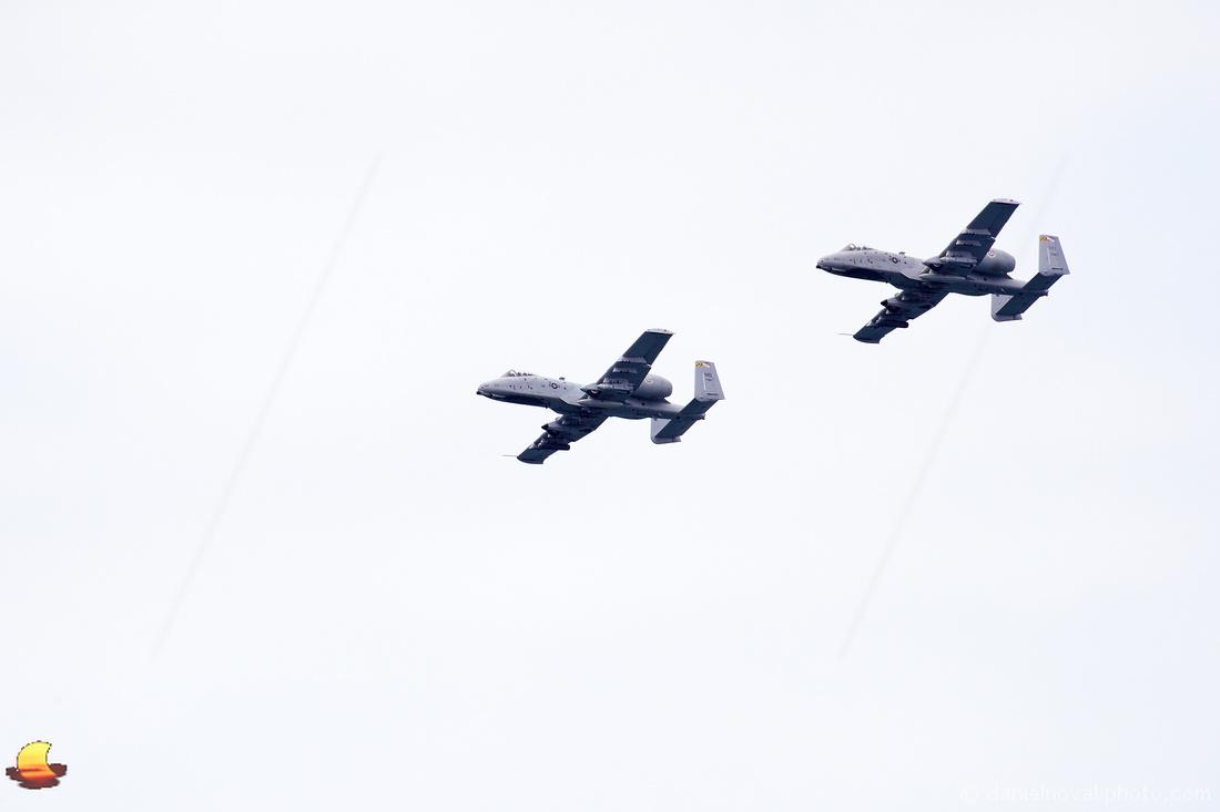 USAF A-10C Thunderbolt II over Buffalo, NY