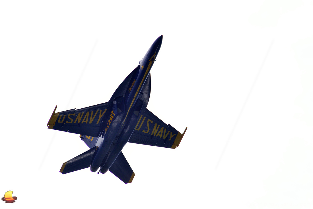 Blue Angels - F-18 Super Hornet over Buffalo, NY