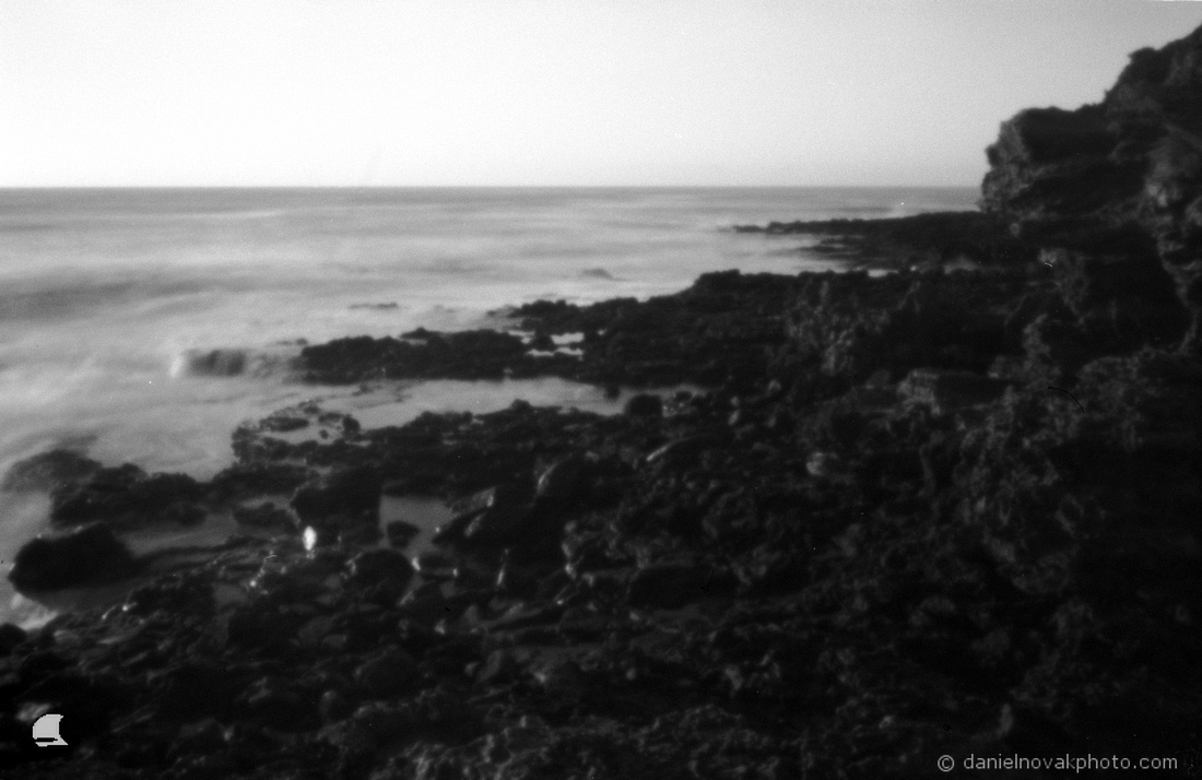 Maha'ulepu Lava, Pinhole photography, Kauai Coast, Hawaii