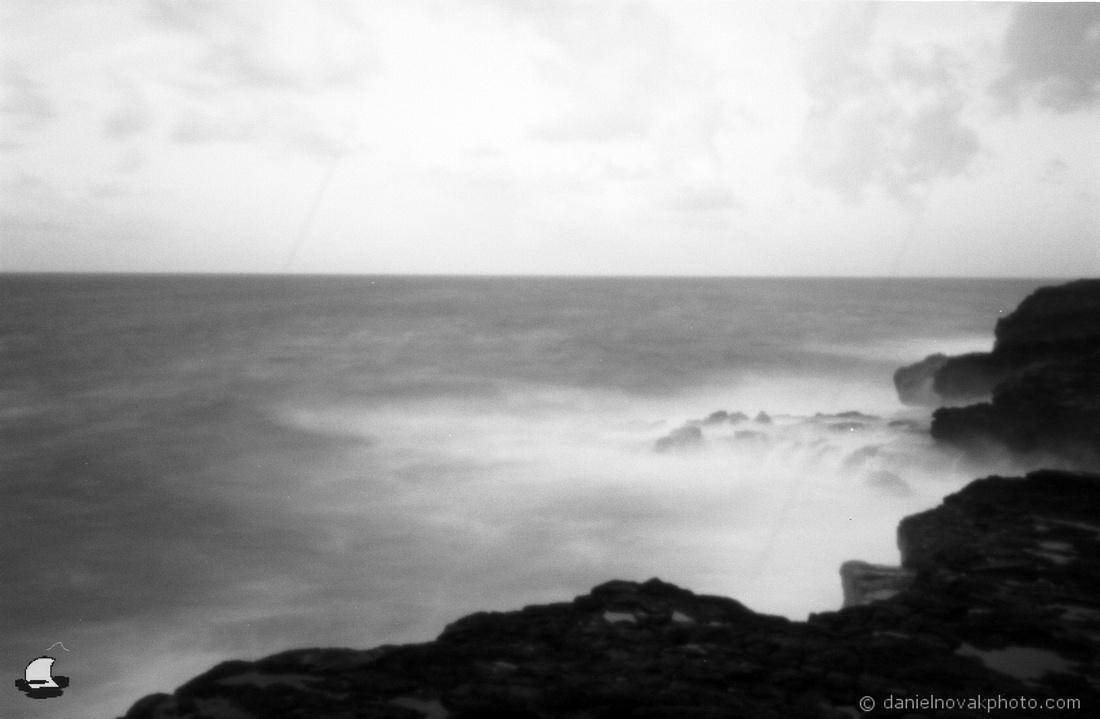 Maha'ulepu Coast, Pinhole Photography, Kauai, Hawaii