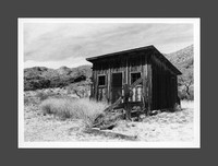 Road Trip 2018 Darkroom Print: The Livery, Organ Mountains Desert Peaks National Park, New Mexico
