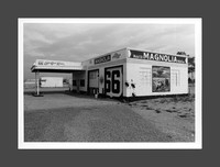 Road Trip 2018 Darkroom Print: Magnolia Gas, Route 66, Tucumcari, New Mexico