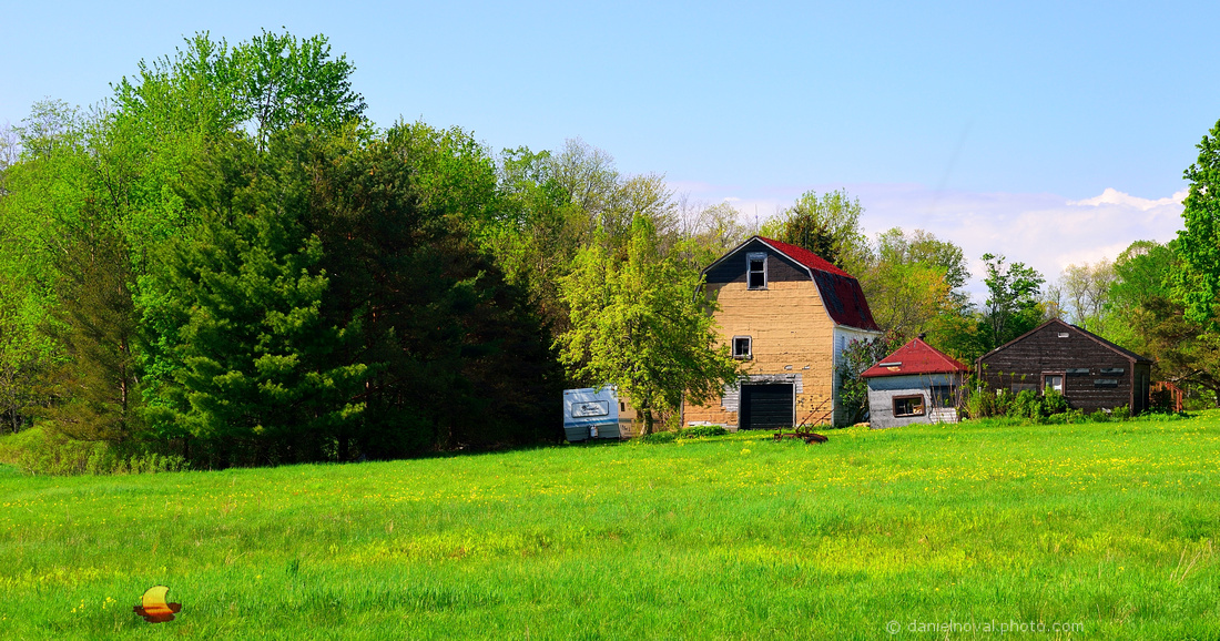 Bold Three Barns, My First Photo of the Trio in 2014