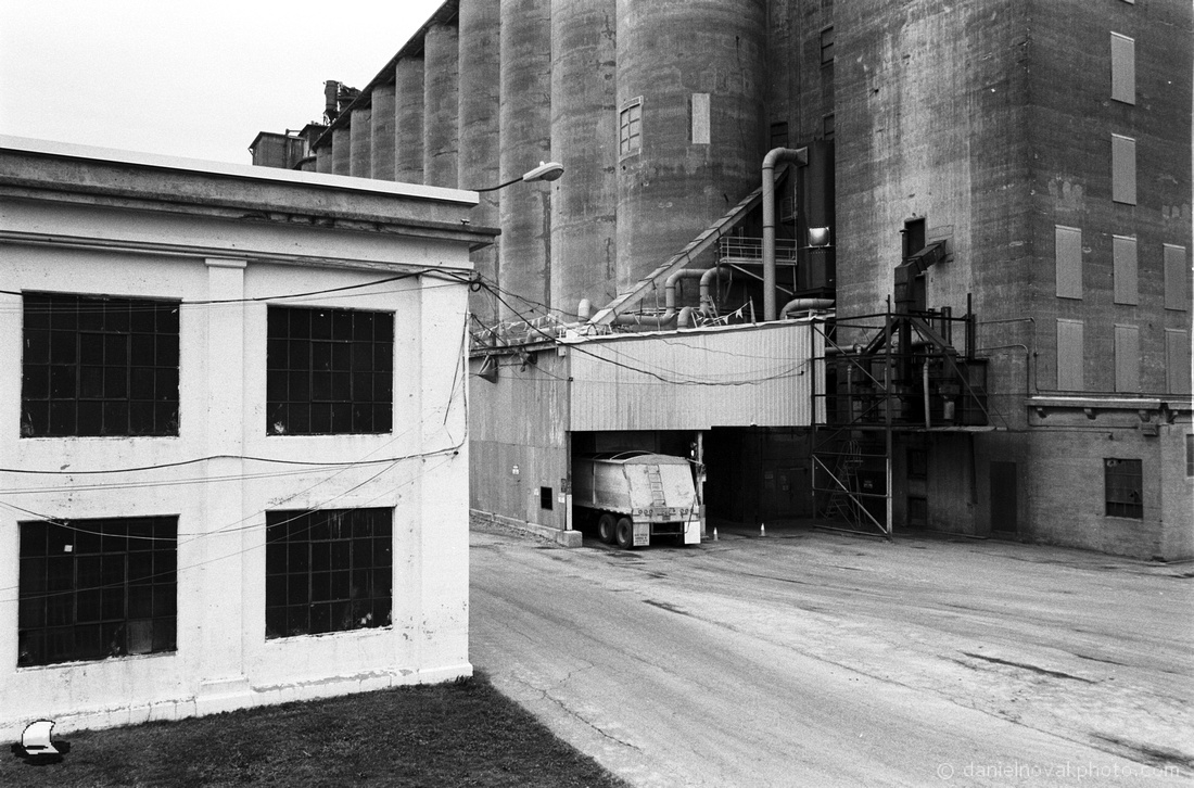 Loading a Truck - Standard Grain Elevator, Buffalo, New York