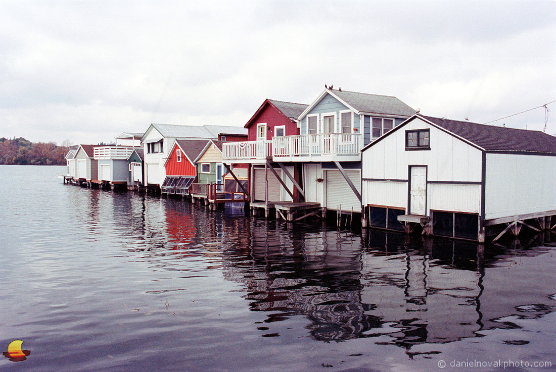 On the Water, Boathouses of Canandaigua City Pier