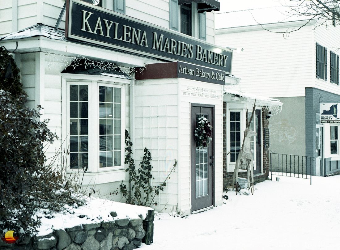 Kaylena Marie's Bakery on New Year's Day, Orchard Park, NY