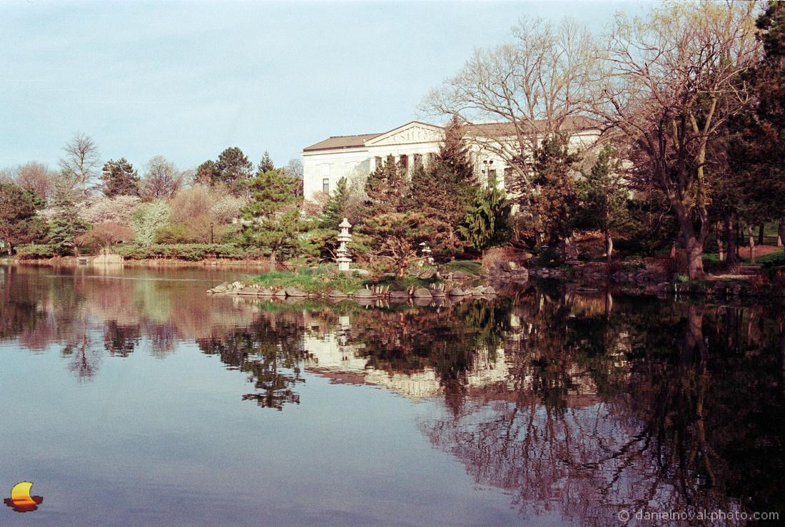 Morning Reflection, Buffalo History Museum, Buffalo, NY
