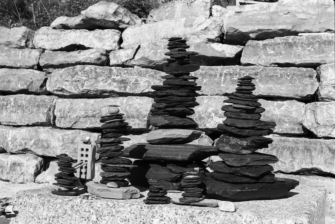 Balanced Rock Towers Close Up, Sturgeon Point on Double-X for the Partnership of the Passing Pentax K1000