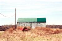 By a Barn, Rural Southtowns, Buffalo, New York (NY), Nikon N75, Kodak Portra 160 Film