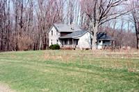 Farmhouse, Rural Southtowns, Buffalo, New York (NY), Nikon N75, Kodak Portra 160 Film