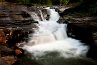 Colden Falls Head On, a Beautiful Waterfall near Buffalo, New York (NY)