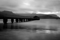 Hanalei Bay, Zero Image 35mm Pinhole Camera, Ilford PANF Plus 50 Black & White Film