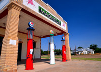 Route 66: Magnolia Gas in Shamrock, TX