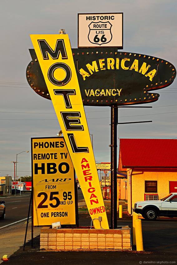 Route 66: Motel Americana, Tucumcari, NM