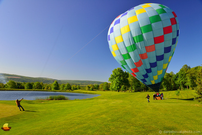 Reflections Landed, CT Ballooning Touch Down