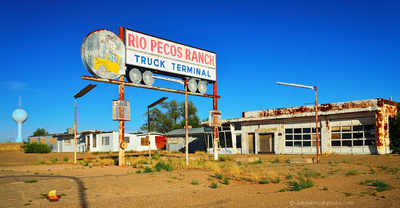 Road Trip USA - Route 66: Rio Pecos Ranch, Santa Rosa, NM