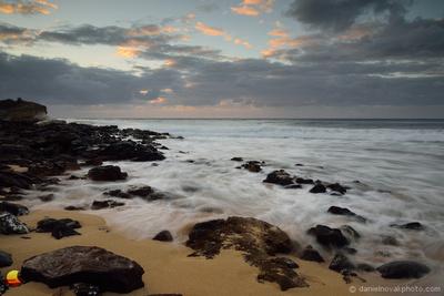 Shipwreck Beach Daybreak, Kauai, Hawaii