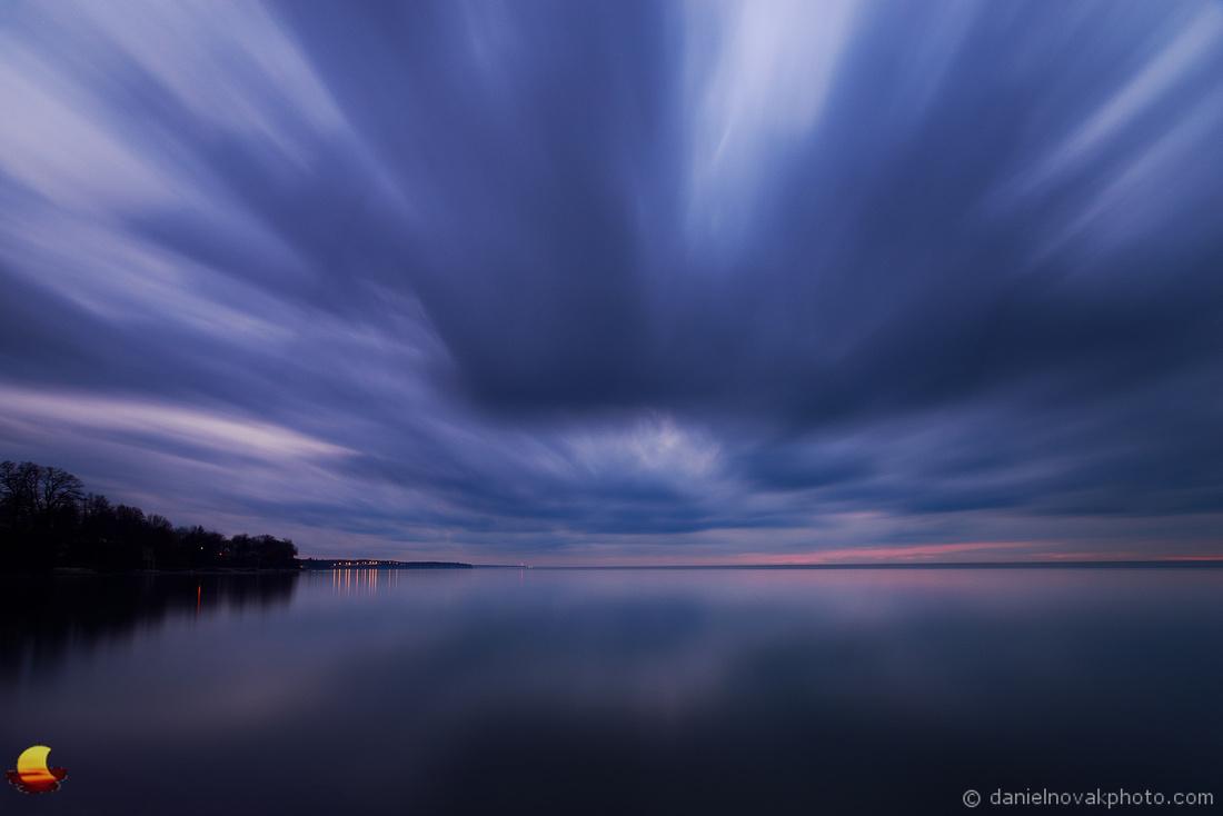 Incoming Clouds from the West, Hamburg Beach, Hamburg, NY