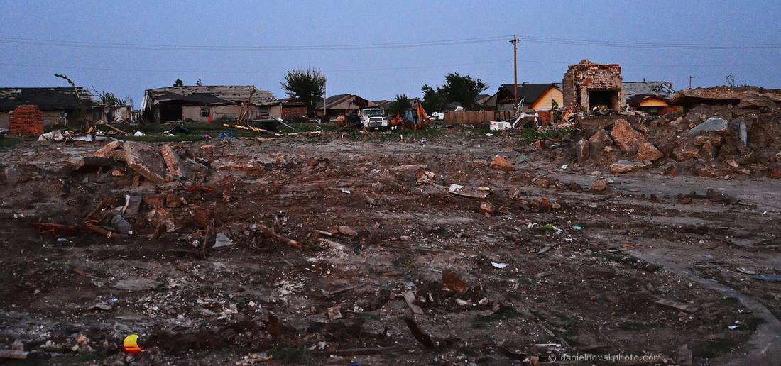 Destruction, After the 2013 Moore, OK Tornado