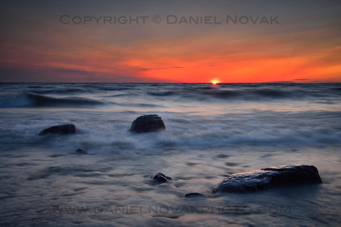 Sunset Awe at Sturgeon Point, Derby, NY near Buffalo, NY