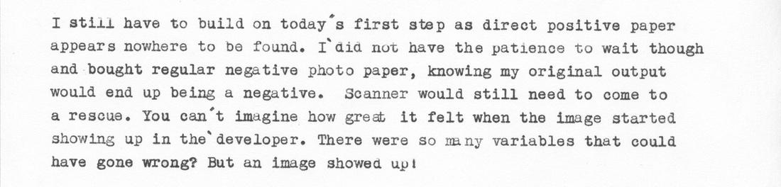 Typewriter Blog, Paragraph 5