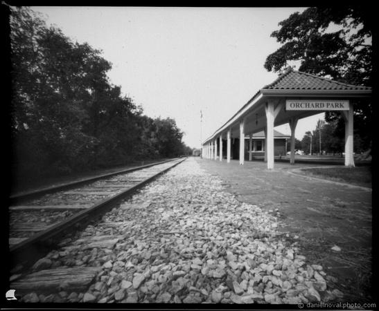 Orchard Park Train Depot