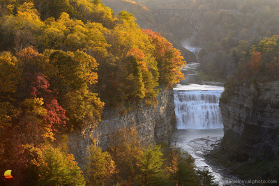 Gorge of Colors, Middle Falls, Letchworth State Park