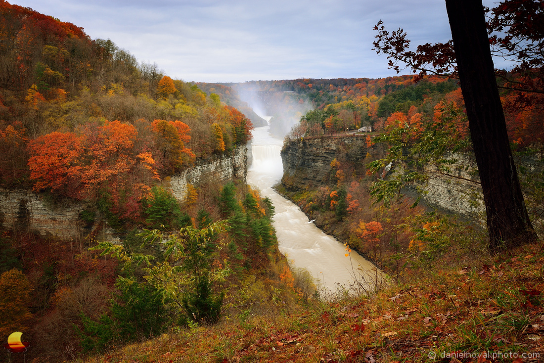 Get Inspired!, Middle & Upper Falls of Letchworth State Park
