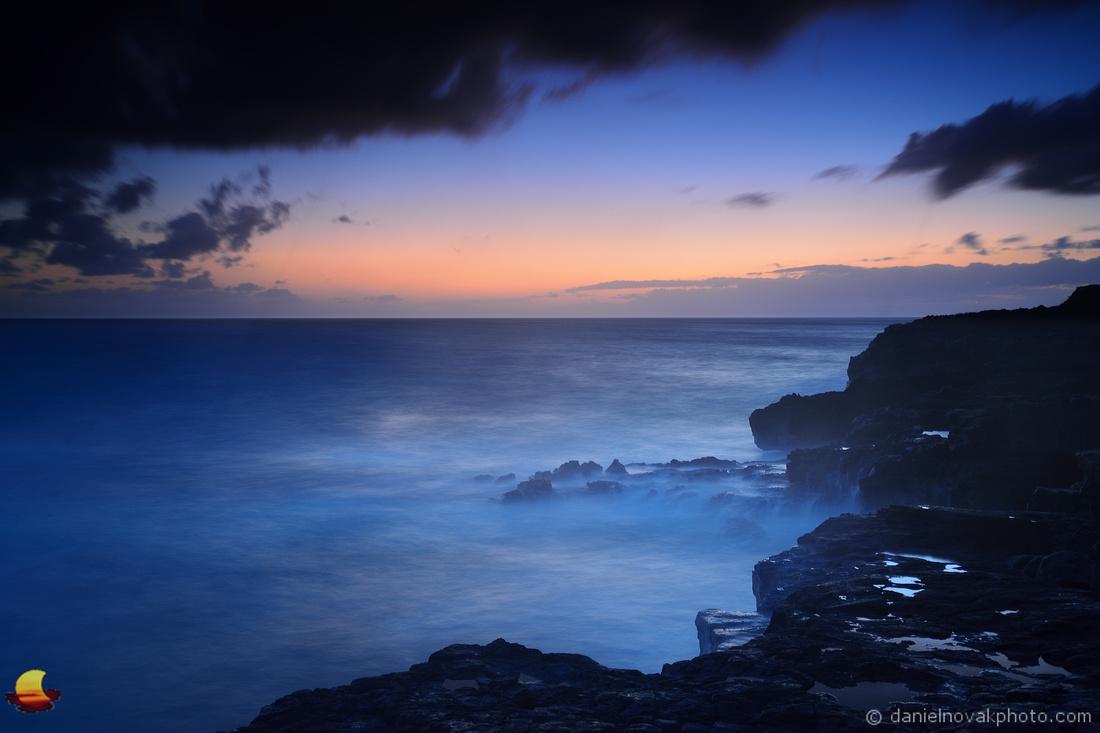 Night Settling In, Kauai, Hawaii