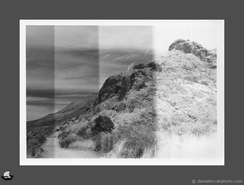 Road Trip 2018: Darkroom Prints - Test Strips