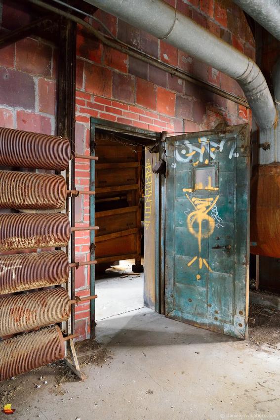 Open Door at Perot Grain Elevator, Silo City, Buffalo, NY