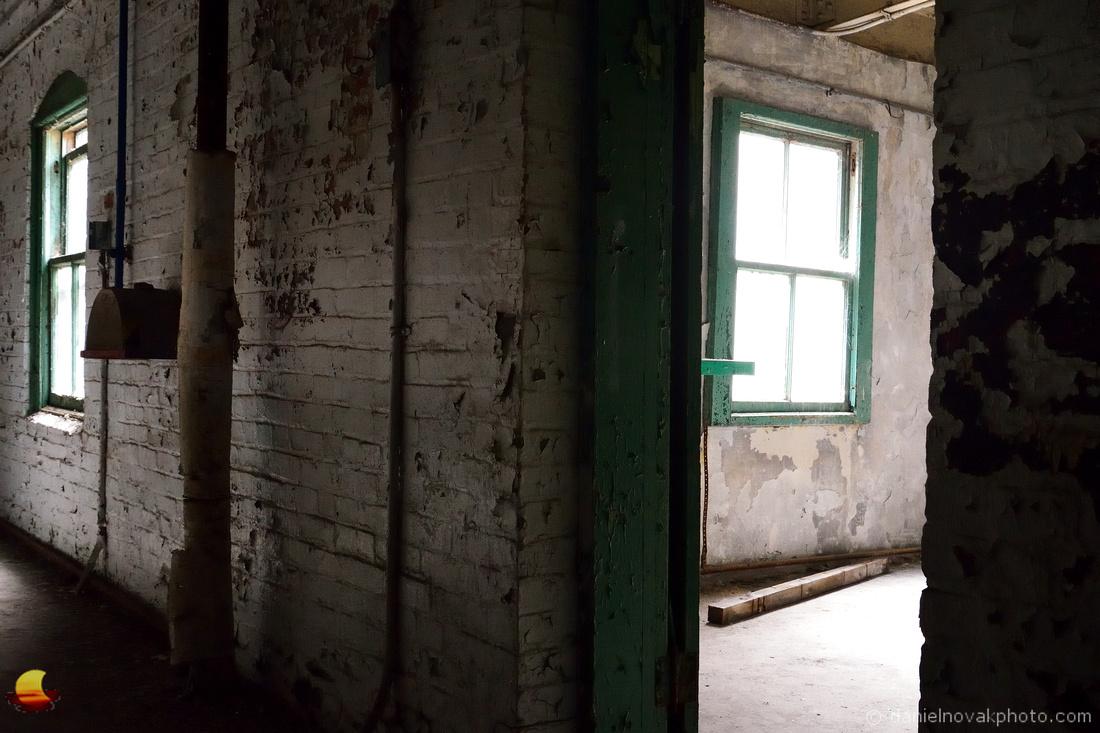 Peeking through a Perot Door, Perot Grain Elevator, Silo City, Buffalo, NY