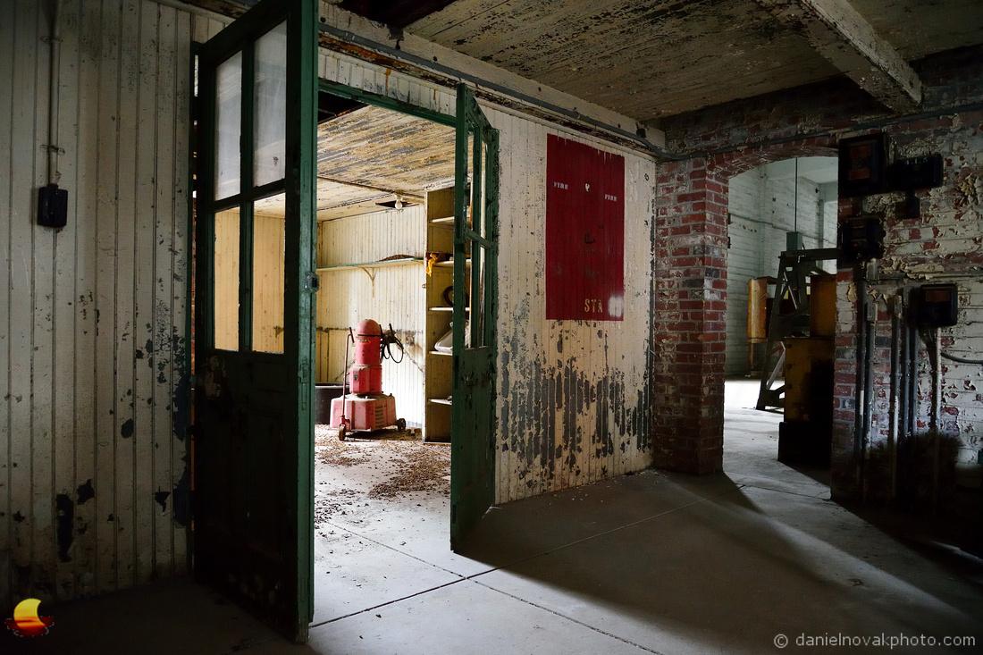 Double Door of Perot, Perot Grain Elevator in Silo City, Buffalo, NY