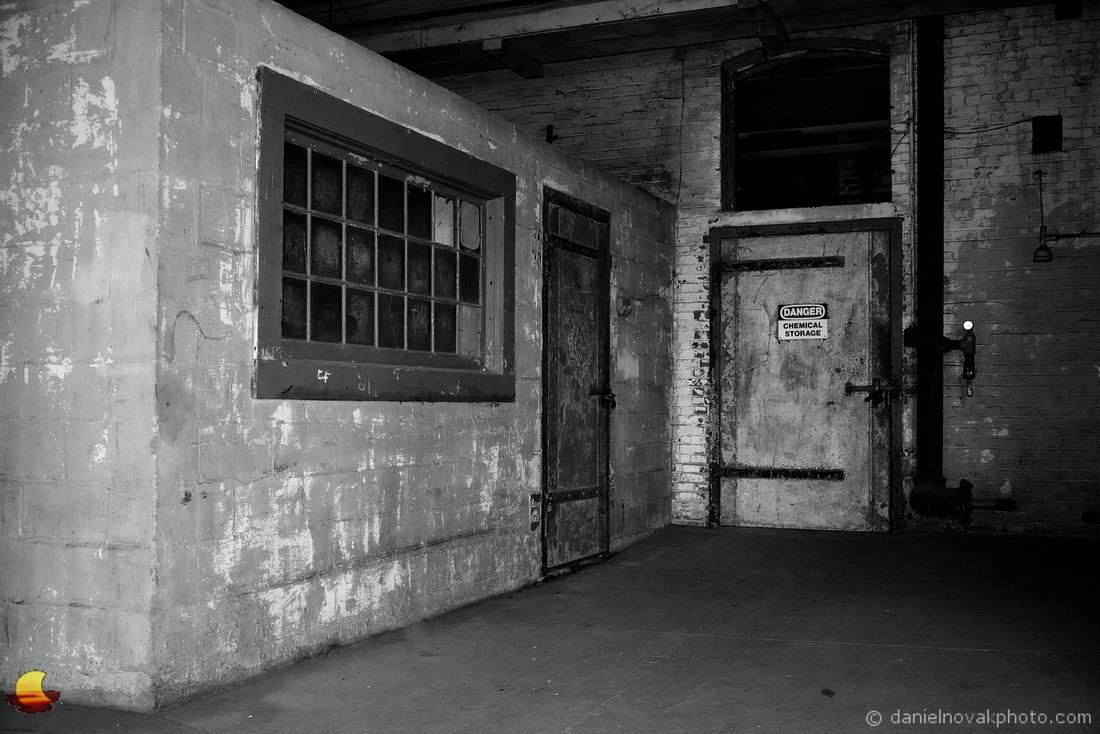 Chemical Storage Door, Perot Grain Elevator, Silo City, Buffalo, NY