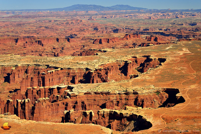 The Canyons Below, Glimpse into Geologic Past, Island in the Sky, Canyonlands National Park, Utah (UT).