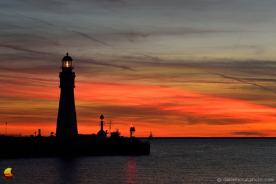 Painted Lighthouse, Erie Basin Marina, Buffalo, NY