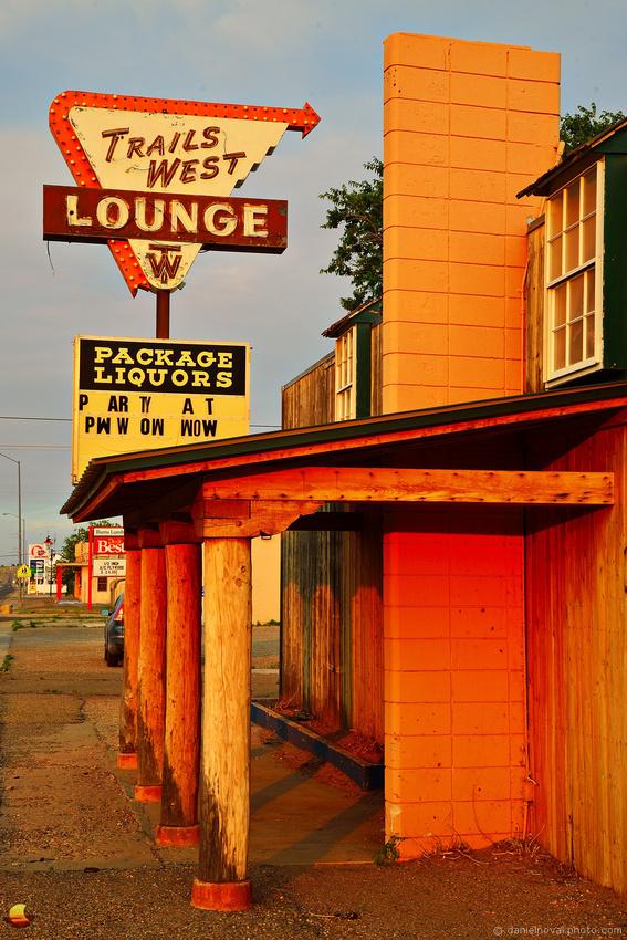 Route 66: Trails West Lounge, Tucumcari, NM