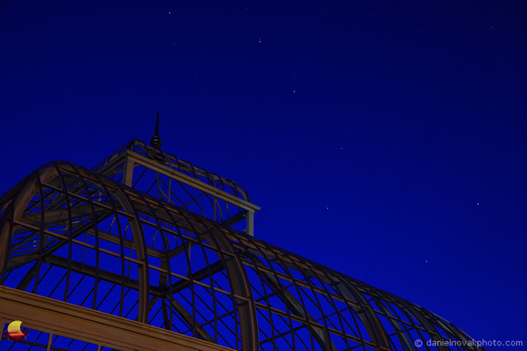 Big Dipper over Botanical Gardens, South Park, Buffalo, NY