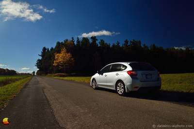 On a Caneadea Country Road, A Subaru Commercial, Western New York