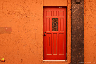 Colors of Southwestern Architecture, Grand Junction, Colorado.