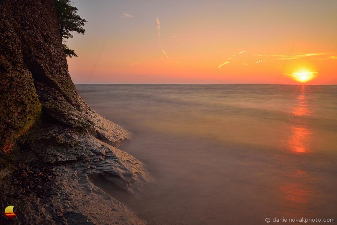 Midsummer Day's Sunset, Hamburg Beach, Hamburg - Buffalo, NY