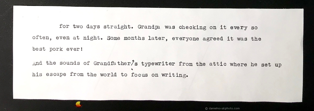 Typewriter Blog Part III
