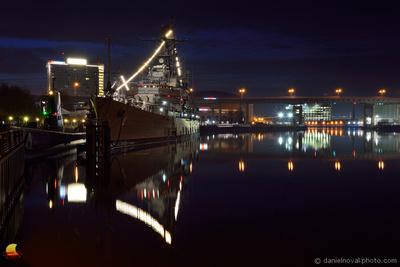 USS Litte Rock at Daybreak, Buffalo Naval & Military Park
