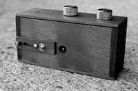 Zero Image Pinhole, 35mm Wooden Film Pinhole Camera
